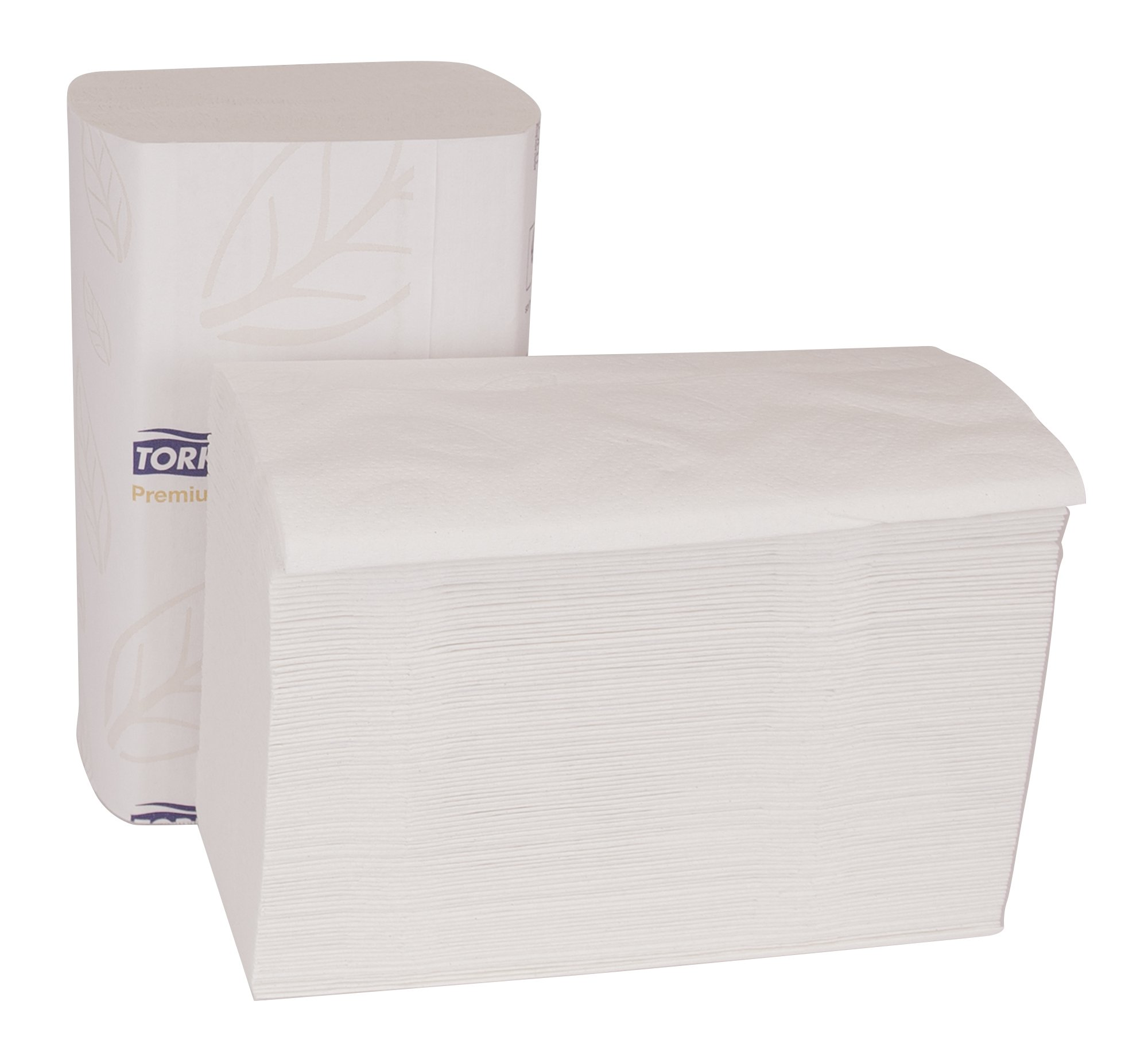 Tork Premium MB574 Soft Xpress Multifold Paper Hand Towel, 4-Panel, 2-Ply, 8.4'' Width x 14.5'' Length, White (Case of 32 Packs, 94 per Pack, 3,008 Towels) by Tork (Image #6)