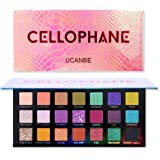UCANBE x Anwen CEllOPHANE Pro 21 Colors Makeup Eyeshadow Palette, Pigmented Matte Glitter Shimmer Metallic Natural Eye…
