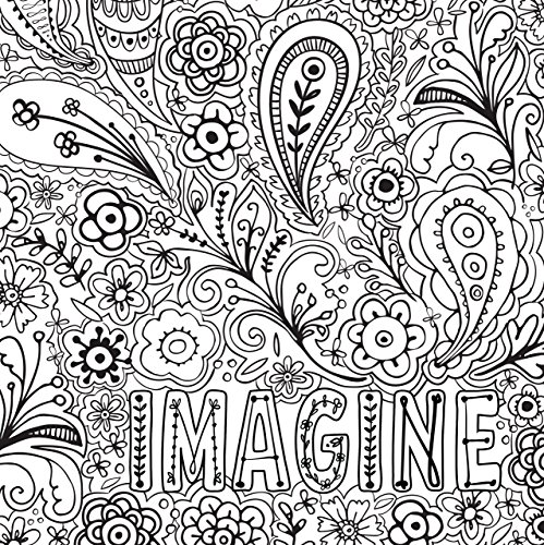 Joyful Inspiration Adult Coloring