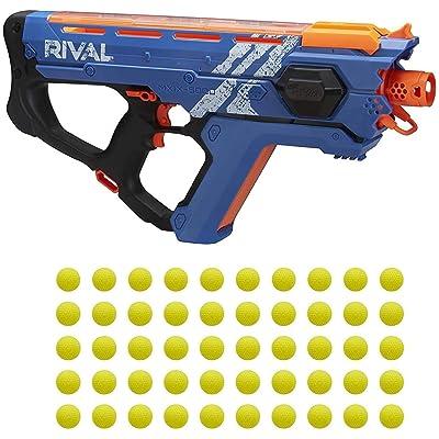 Perses Mxix-5000 Nerf Rival Motorized Blaster (Blue) -- Fastest Blasting Rival System: Toys & Games
