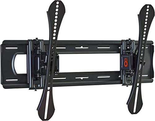 Sanus Super Low Profile Fixed Position TV Wall Mount Bracket for 40 – 80 TVs – Features Slim 1 Profile, Easy Access to Cables, Simple Install – OLL15-B1