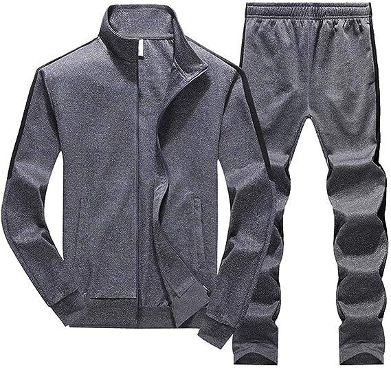 Chandal Hombre Completo, Conjuntos de Chandal y Pantalón de Deportivos para Hombre, Chaqueta de Sólido con Bolsillo y Capuchado Fitness: Amazon.es: Ropa y accesorios
