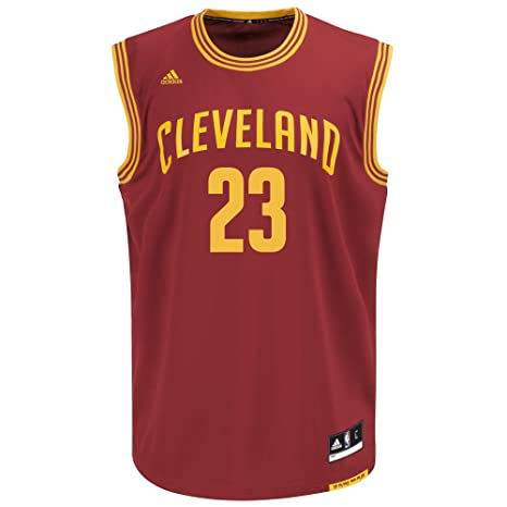 NBA Cleveland Cavaliers Lebron James  23 Men s Road Replica Jersey ... 0f973cd1a