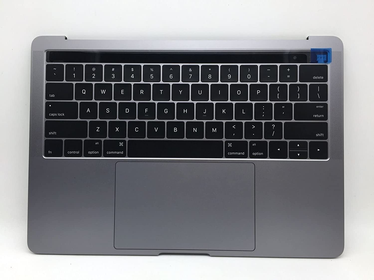 "For MacBook Pro A1706 13"" Late 2016 MLH12LL/A Top Case w/Battery Space Gray 661-05333 Space Gray"