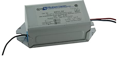 ROBERTSON 3P10074 HP213P BM Fluorescent mBallast for 2 CFT13W/GX23 or CFQ13W/GX23 CFL L&s Preheat Strt ...  sc 1 st  Amazon.com : robertson innovative lighting solutions - azcodes.com