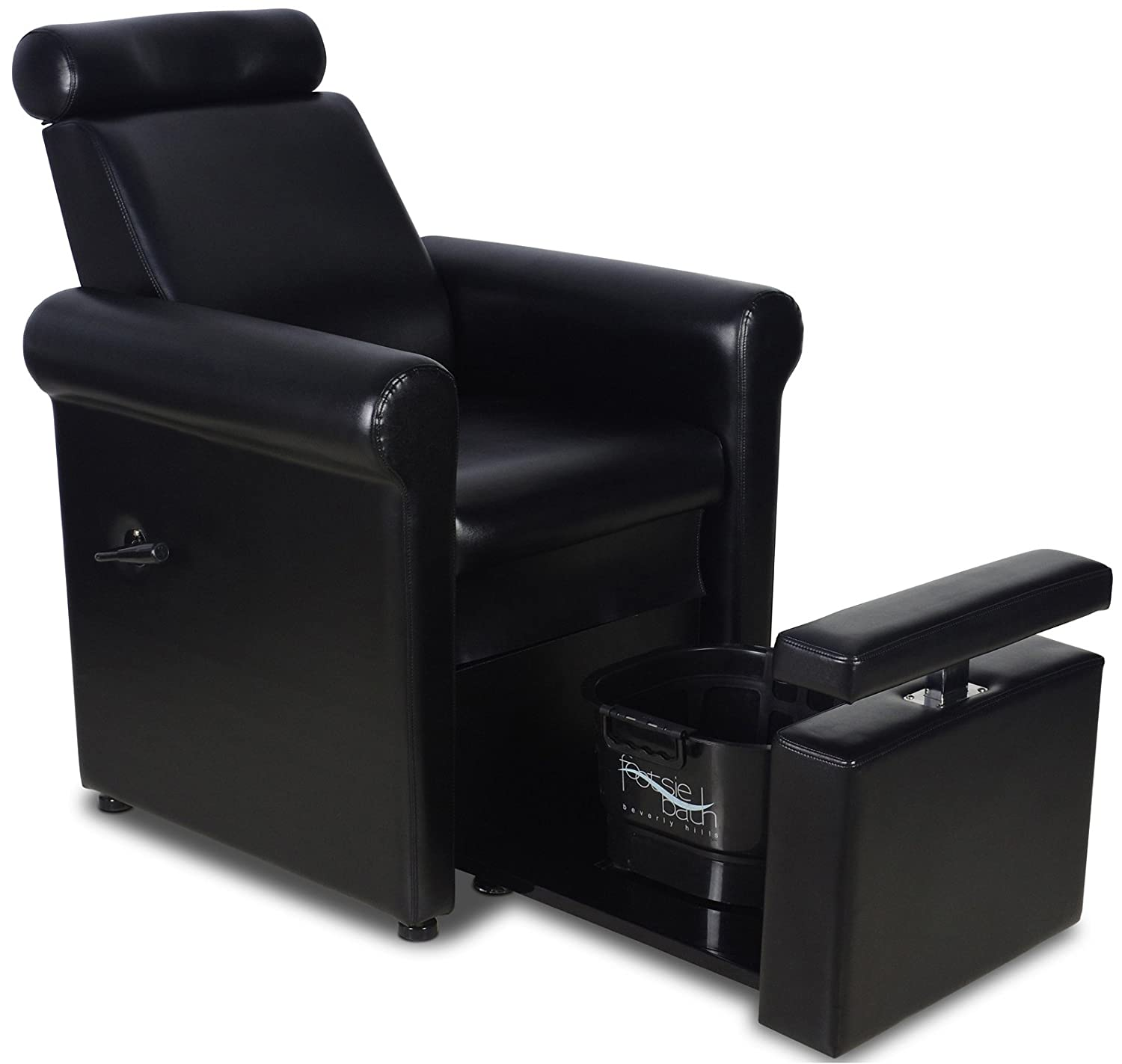 "Amazon Icarus ""Crest"" Black Pedicure Foot Spa Station Chair"