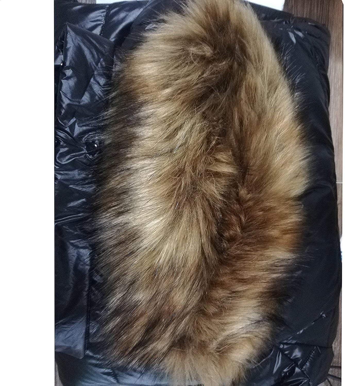 Winkwink Veste en duvet de canard pour femme avec grand col rembourré et épais Blanc Taille 3,XXL une_couleur