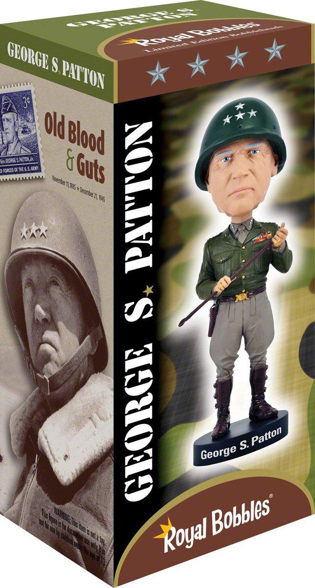 Royal Bobbles George S Patton V2 Bobblehead