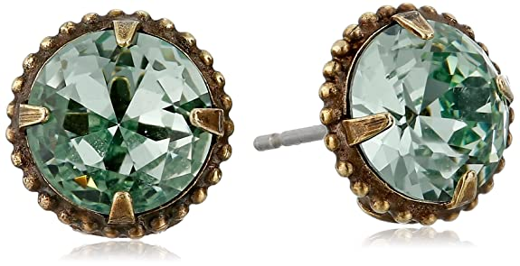 Vintage Style Jewelry, Retro Jewelry Sorrelli Elegant Jackie 0 Stud Earrings $24.35 AT vintagedancer.com