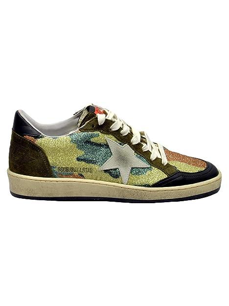 GOLDEN GOOSE G33WS592P6 Mujer Camuflaje Cuero Zapatillas: Amazon.es: Zapatos y complementos