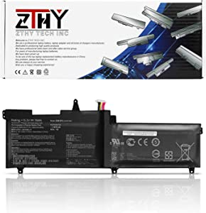 ZTHY 76Wh C41N1541 Laptop Battery for Asus ROG Strix GL702V GL702VS GL702VS-BI7N12 BA023T GL702VSK GL702VT-GC026T GC018T GL702VM GL702VM1A GL702VM-DB71 DB74 GL702ZC-GC190T GC098T 0B200-02070000