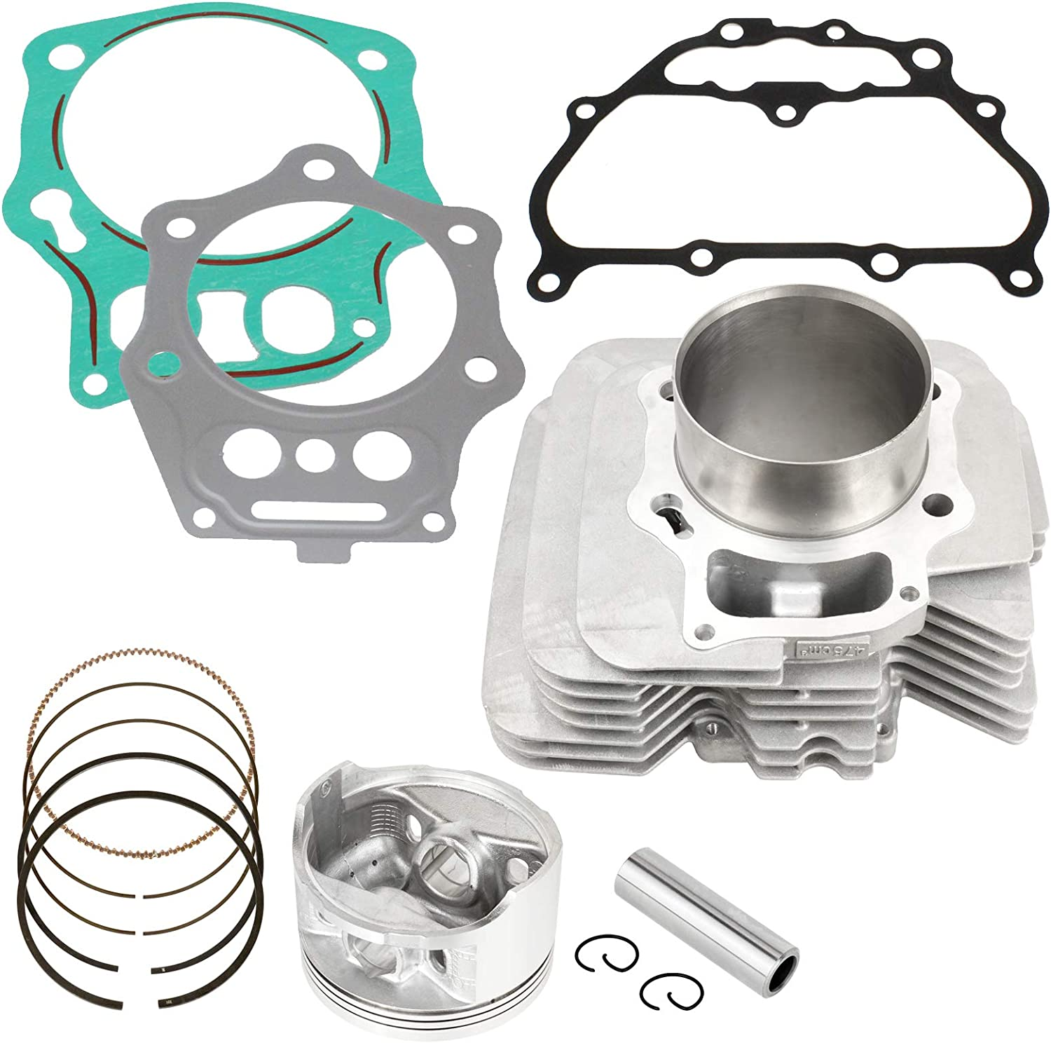 Caltric Cylinder Piston Ring Gasket Kit for Honda Trx500Fpm Foreman 500 4X4 Eps 2008-2011