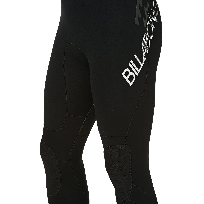 2017 Billabong Intruder 4//3mm GBS Back Zip Wetsuit BLACK O44M15