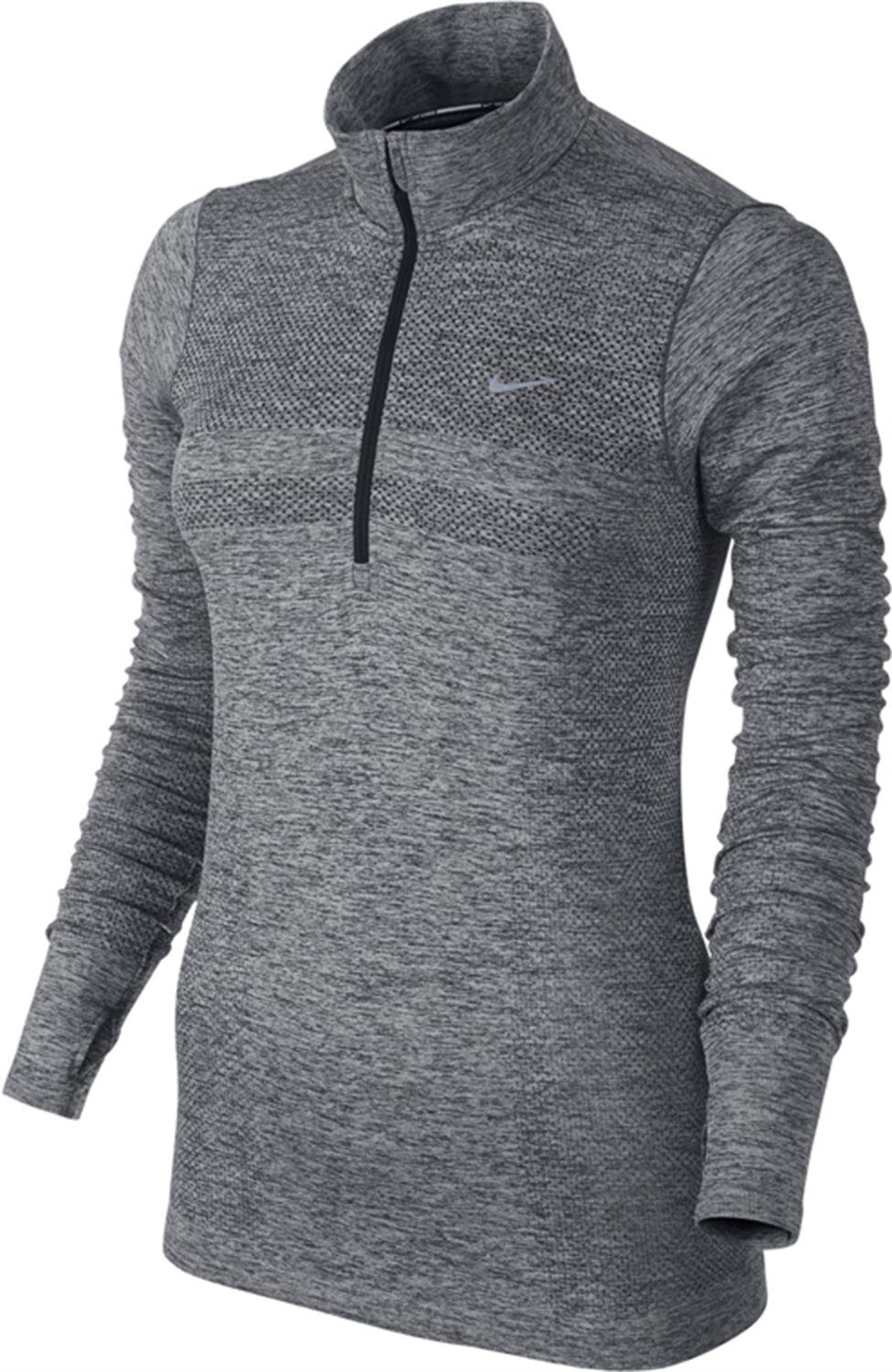 18868024 Nike Dri-Fit Knit Half Zip Womens Long Sleeve Running Top Size M, Exercise  & Fitness - Amazon Canada