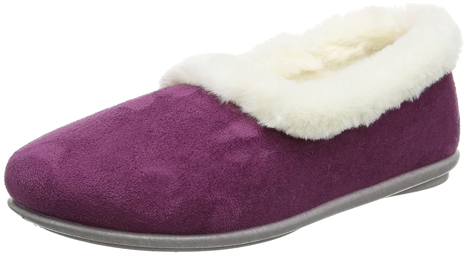 Lotus Chaussons Prue, (Cranberry) Lotus Chaussons Femme Red (Cranberry) 9a4f30b - fast-weightloss-diet.space