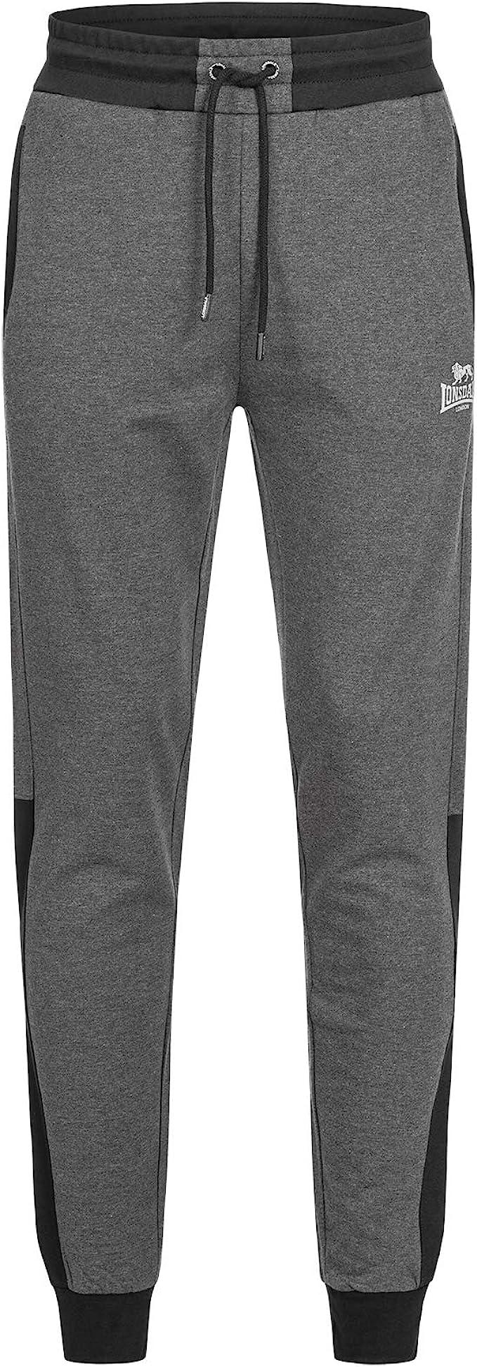 LONSDALE HECKFIELD Pantalones de Deporte & chándal Hommes Gris ...