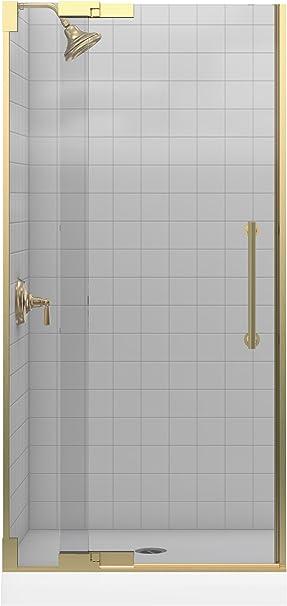 Kohler k-705701-l-abv Purist Pivot para mampara de ducha de vidrio ...