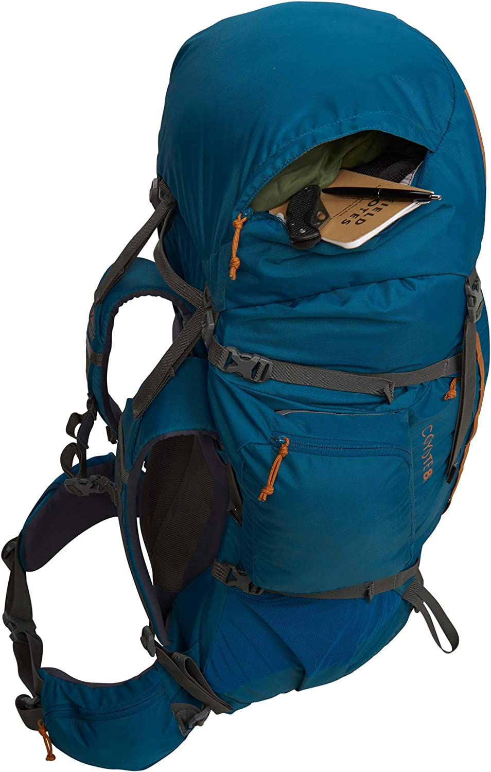 2020 Update Kelty Coyote 60-105 Liter Backpack - Hiking Travel Backpack Mens and Womens Backpacking