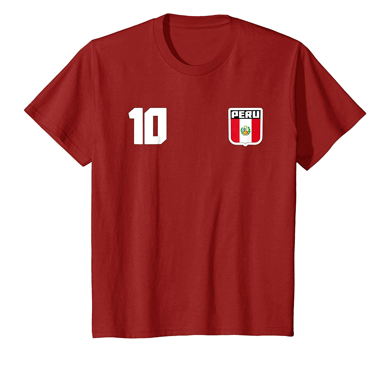 Amazon.com: Peru T-shirt Peruvian Flag Soccer Futbol Fan Jersey: Clothing