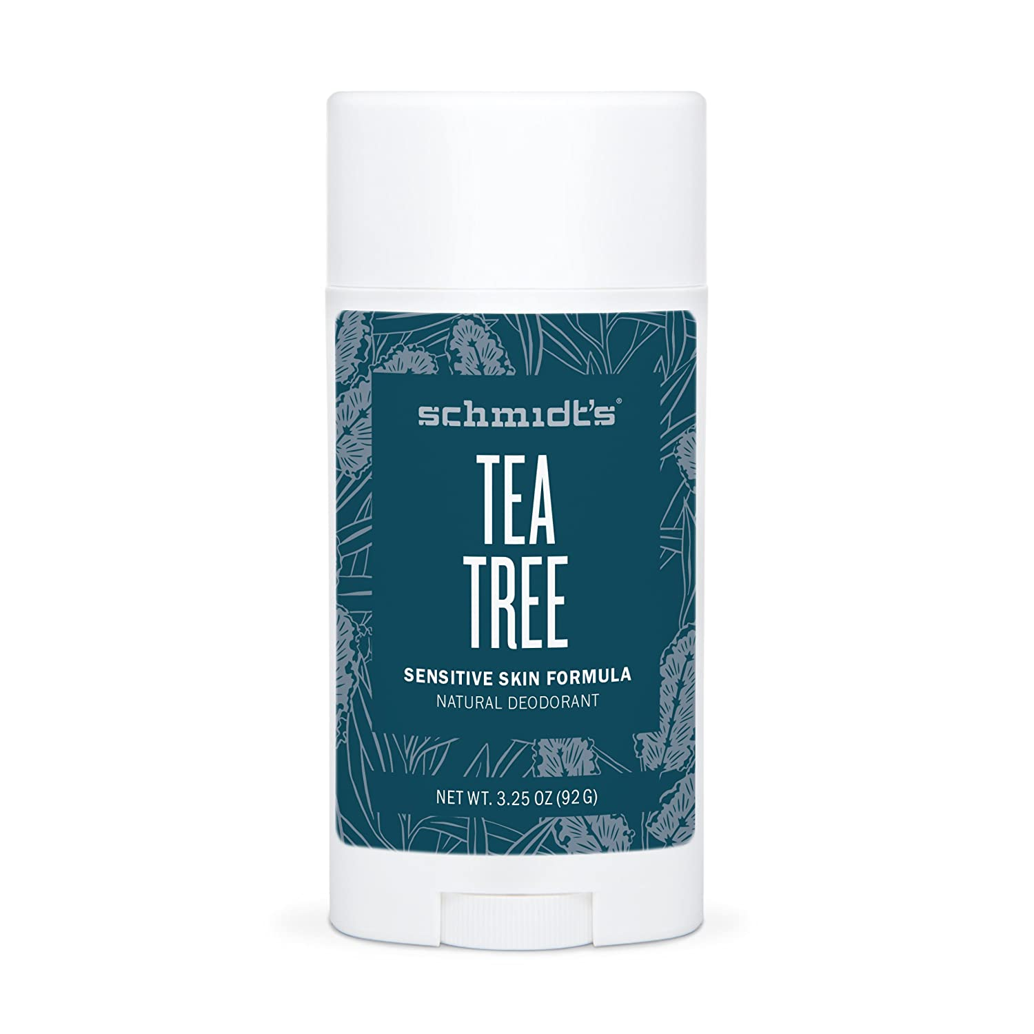 Schmidts Natural DeodorantTM - Tea Tree Sensitive Skin Stick (3.25 oz.; Odor Protection & Wetness Relief; Aluminum-Free) by Schmidts Deodorant: Amazon.es: ...