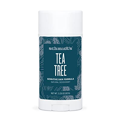 Tea Tree Sensitive Skin Deodorant Stick (2 oz.; Odor Protection & Wetness Relief; Aluminum-Free)