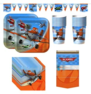 54 in x 96 in Party Supplies American Greetings Toys 5227262 Planes Plastic Table Cover