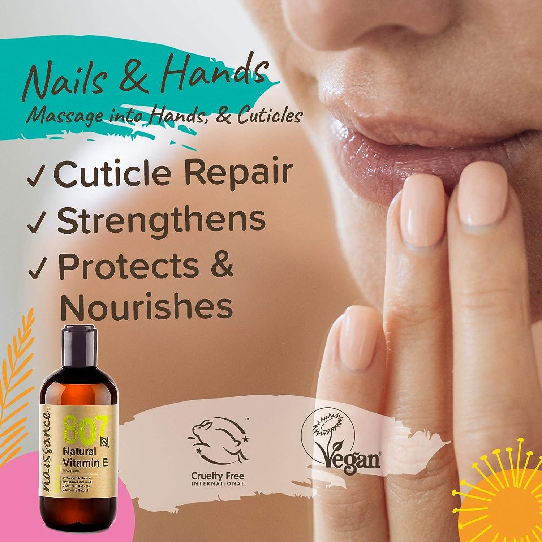 Naissance Vitamina E n. º 807 (Aceite) – 250ml - Natural, vegana, libre de hexano y no OGM.: Amazon.es: Belleza