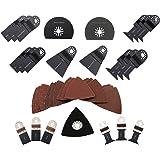 ABN Deluxe 38 Piece Universal Oscillating MultiTool Blade Combo Set Kit Fein Multimaster Blades
