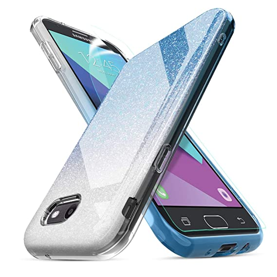 best website 49727 7b914 Compatible Samsung Galaxy J3 Luna Pro Case,J3 Emerge/Galaxy J3 Prime/J3  Eclipse/J3 Mission/J3 2017/Sol 2//Amp Prime 2/Express Prime 2 Case,w/Screen  ...