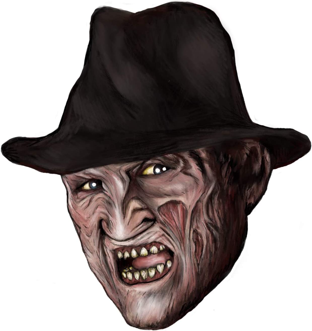 Freddy Krueger Sticker BUY 2 GET 1 FREE Choose Size /& Color Nightmare Elm 007