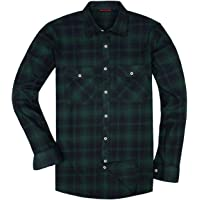 Surprise S Flannel Plaid Shirt Men Casual Long Sleeve High Cotton Male Shirt Chemise Homme Camisa Social Masculina