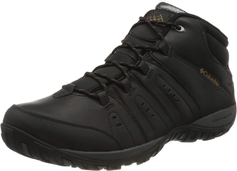 Columbia Men s Woodburn Ii Chukka Waterproof Omni-Heat Hiking Shoe