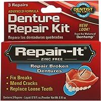 Dentemp Emergency Denture Repair Kit - 3 Repairs ( Pack of 3 )