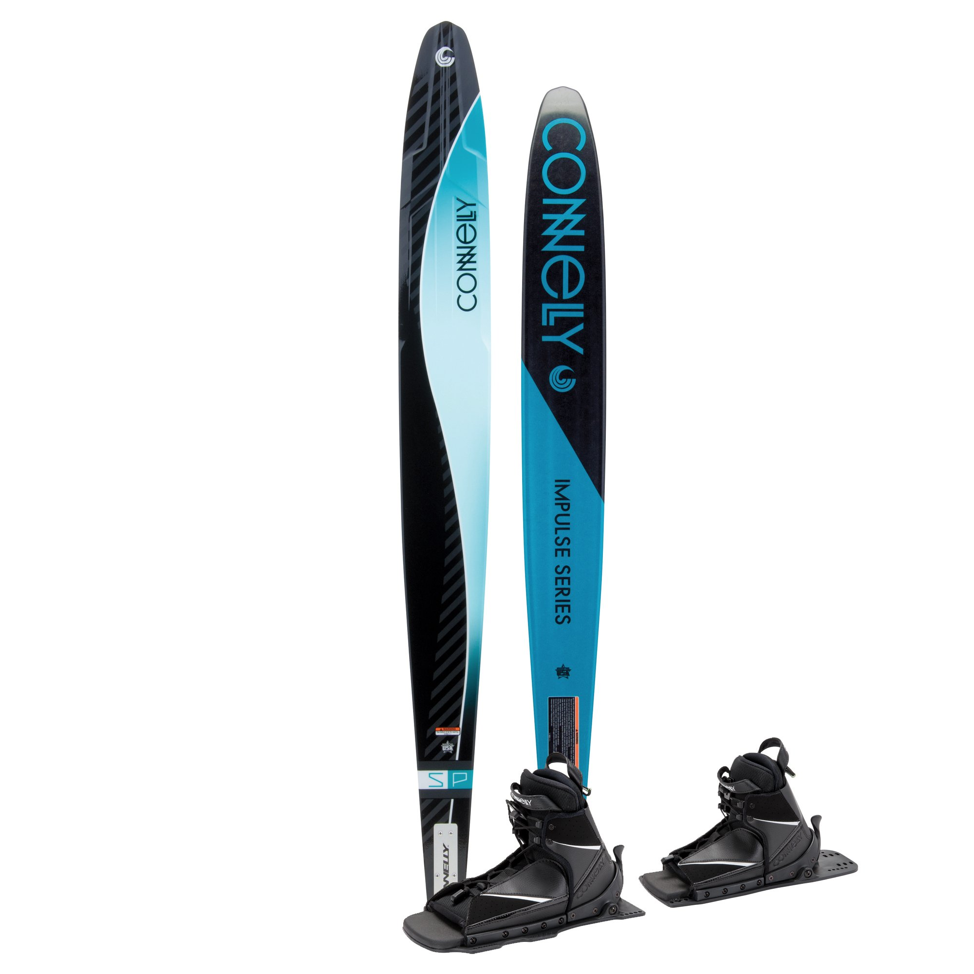 Connelly Skis SP Waterski 64-Inch (Double Nova Lace Adjustable Boot), Small/Medium by CWB