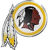 NFL Washington Redskins Die Cut Color Automobile Emblem