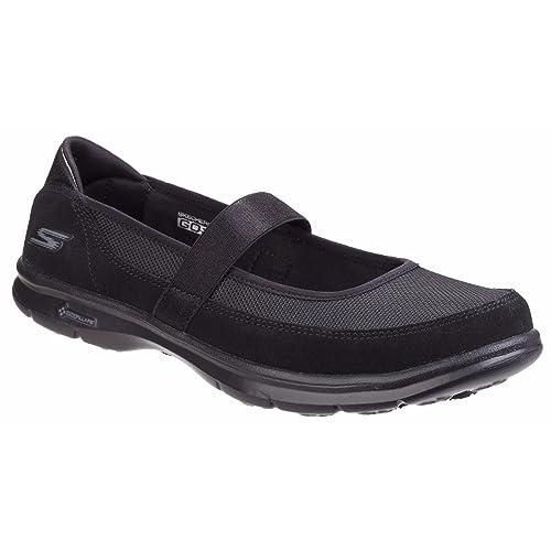 Skechers Go Step Snap Womens Shoes UK 4 Black xmygb862lS