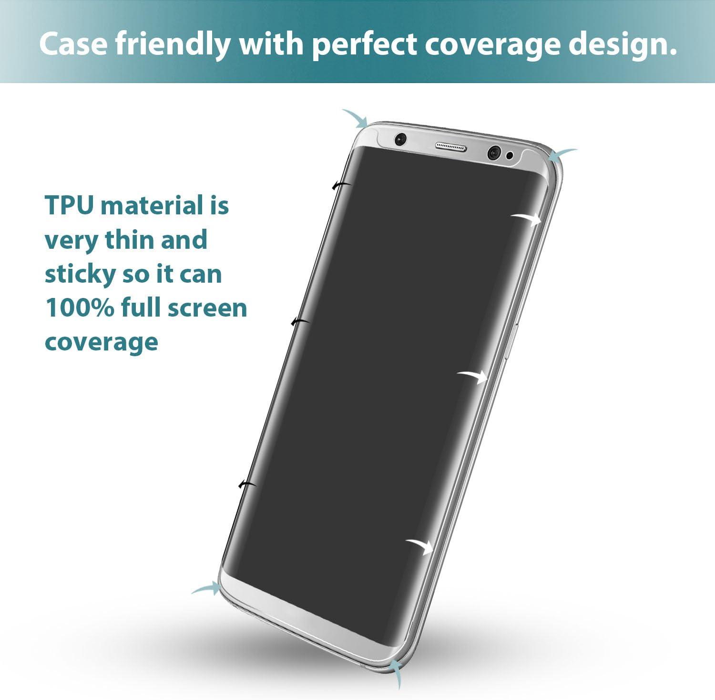 Klearlook - Protector de pantalla de TPU mate para Samsung Galaxy S8 (5,7 pulgadas): Amazon.es: Electrónica