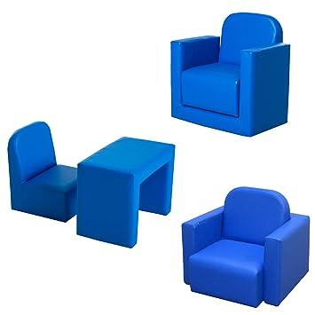 homcom kids mini sofa 3 in 1 table chair set children armchair seat rh amazon co uk