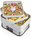 Hamilton Beach 32100A Digital Food Dehydrator, 5 Tray, Gray