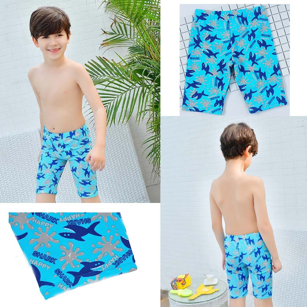 AODEW Boys Beach Board Shorts Swim Trunk Swimsuit Beach Shorts Quick Dry for 3-12 years