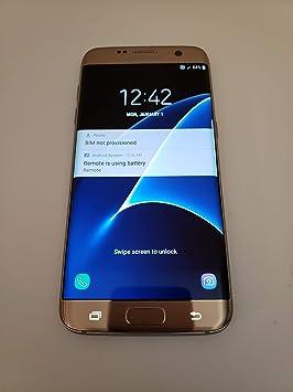 SAMSUNG Galaxy S7 Edge G935A 32GB AT & T - Platino Oro: Amazon.es: Electrónica