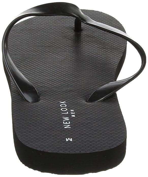 New Look Herren Plain Flip Flop Zehentrenner: Amazon.de: Schuhe &  Handtaschen