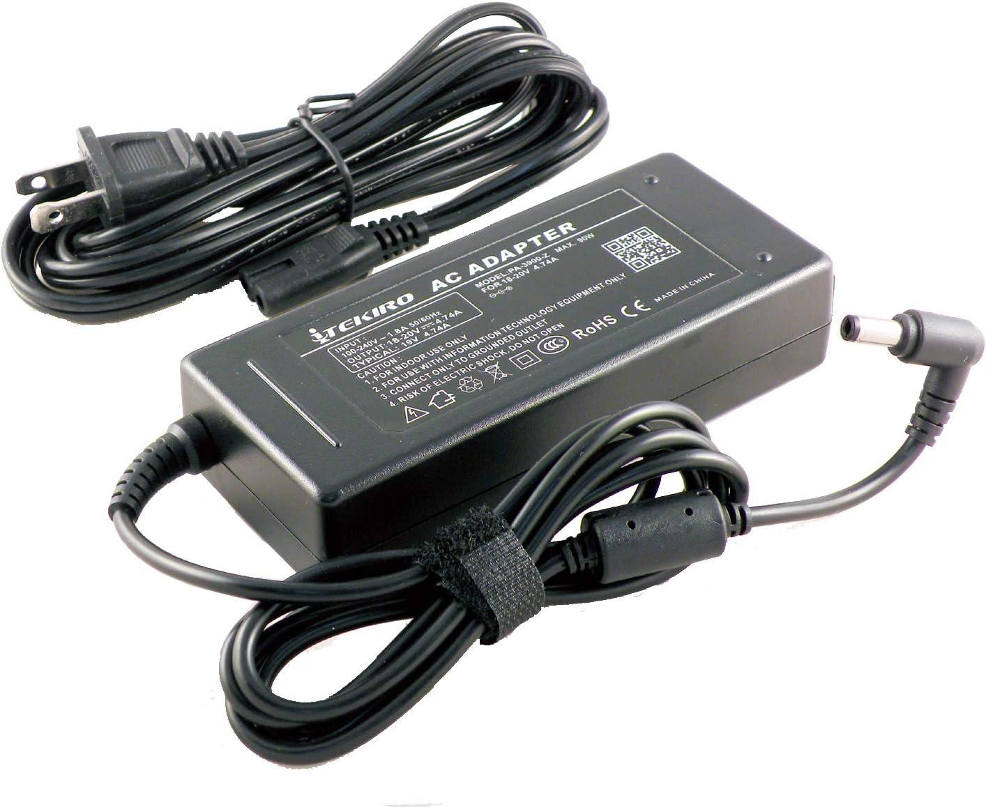 iTEKIRO AC Adapter Charger for Fujitsu Lifebook T904, T935, T936, T937, T938, T939, U727, U728, U729, U729X, U745, U747, U748