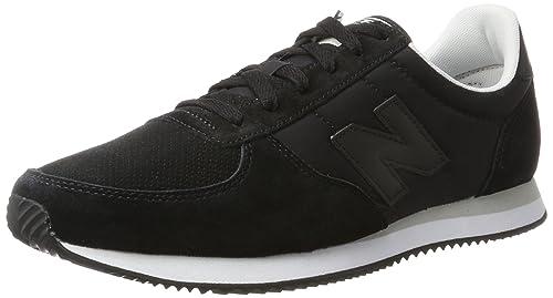 New Balance U220 Sneaker Unisex Adulto Nero Black 44.5 EU Scarpe