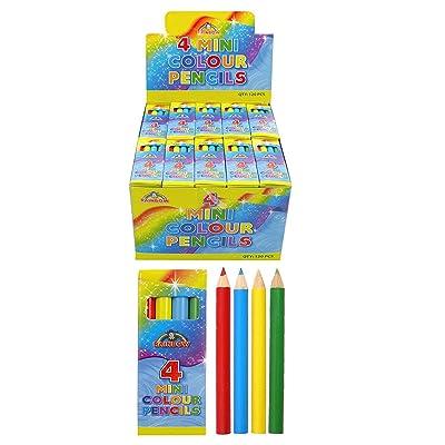 20 x 4 unidades lápices reciclados miniatura accesorios para bolsas de regalo unidades bolsa dinero de bolsillo: Hogar