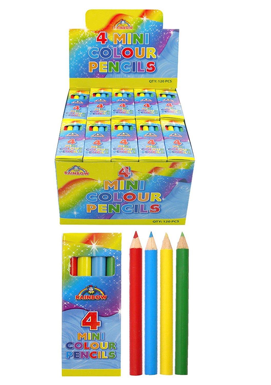 20 x 4 unidades lápices reciclados miniatura accesorios para bolsas de regalo unidades bolsa dinero de bolsillo Party products