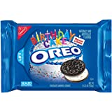 Oreo Chocolate Sandwich Cookies, Birthday Cake, 15.25 Ounce (Pack of 12)