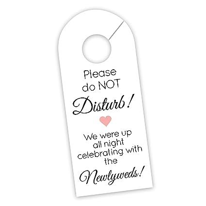 amazon com wedding door hanger sign hotel welcome bag signs do