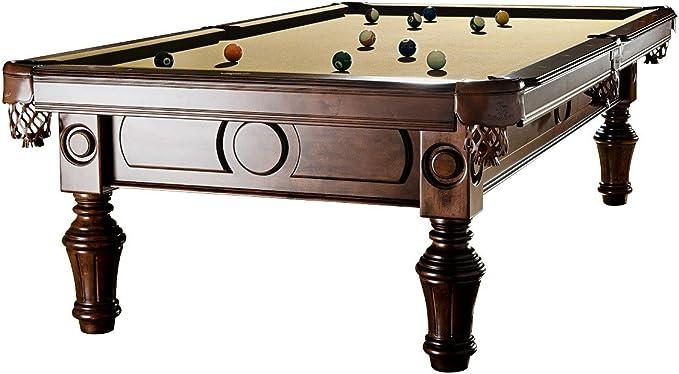 Mesa de billar Modelo General 8 FT., beige: Amazon.es: Deportes y ...