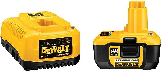 Amazon.com: DeWalt dc9180 C 18-volt Batería Pack & Cargador ...